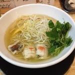 福島壱麺 - 海鮮塩ラーメン(780円)