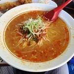 四川菜館 - 坦々麺(赤)