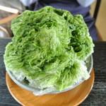 小径 - 氷 宇治抹茶