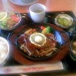 小矢部川サービスエリア 下り線 レストラン - 氷見牛ステーキ定食