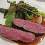 ビストロペイザンヌ - 肉も野菜もたっぷり