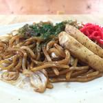 フライ・焼そばの店 はやし - 料理写真:150810 焼そば(並)