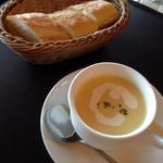 40752531 - バゲット と スープ☆