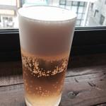 アリーカフェ - ランチビール
