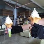 しまなみ館 - 料理写真:ソフトクリーム