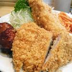銀座梅林 - ミックス定食