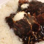日本食堂 - 牛肉たっぷり。