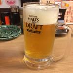 40755862 - 生ビール・250円 ※19時まで                       (通常490円)