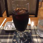 マイルストーン - アイスコーヒー(450円)