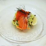 LA LOBROS PAN TABLE CAFE - 夏季限定:冷製パスタ