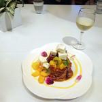 LA LOBROS PAN TABLE CAFE - マンゴーのフレンチ・トースト