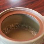 木草庵 - 蕎麦湯