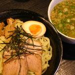 一志亭 松阪店 - 塩つけ麺750円 麺大盛無料