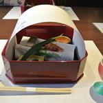 下田セントラルホテル - 前菜5種盛り合わせ