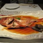 下田セントラルホテル - 金目鯛姿煮3