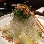 葱や平吉 - 葱サラダ