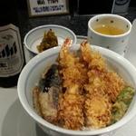 銀座 天一 - 天丼竹1,188円