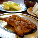 一鶴 - 料理写真:ひなどりとむすび(スープ付)