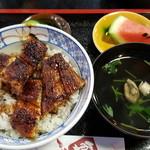 川義 - 料理写真:鰻丼 梅