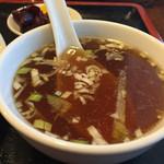 天龍 - スープ。