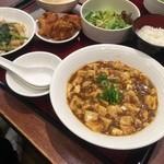 中国料理 青冥 - ☆唐揚げ&サラダ&ごはん&スープ(●^o^●)☆
