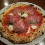 ピッツァパッツァ - ミラノサラミピザ