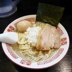 西大泉時代の中華ソバ¥700 +味玉¥100