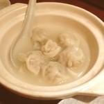 たま銀 de うらら - 水餃子 モチモチしてて美味し。