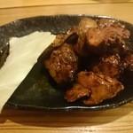 とりけん - キモタレ焼き 580円