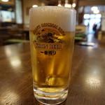 匠家 - 生ビール(500円)