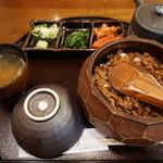匠家 - 飛騨牛まぶし(1,800円)