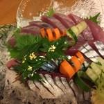 食酔亭元屋 - 料理写真:サバ刺身&カツオ刺身