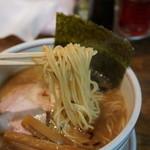 麺肴 ひづき - 醤油麺コクにごり(750円)