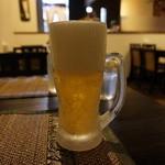 タイオーシヤー - 生ビール(650円)