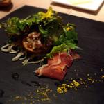 40779611 - 旬野菜と鰹のタルタルのサラダ