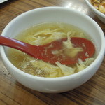 餃子の王将 - チャーハンのスープ