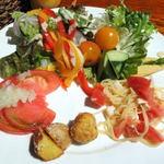 40782396 - 野菜たっぷりのブッフェで、一の膳!