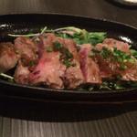 Ooitayuushokuizakayaorochitohiiragi - 豊後牛ステーキ