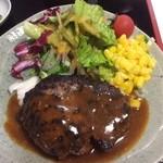 お食事処 たちばな - 大和牛のハンバーグ