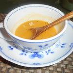 四季の杜 紫尾庵 - 南瓜の冷製スープ