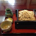 平作 - 料理写真:おせいろ648円を大盛りにしました