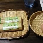 40785028 - はや寿司とゆで卵