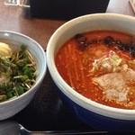 らーめん山頭火 - 昼定食(辛みそらーめん+チャーマヨごはん)