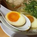 天天有 - 薄味な仕上がりの煮卵。