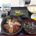 よっちゃーれセンター - 漬け丼定食1000円
