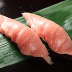 回転寿司 日向丸 - 中トロ