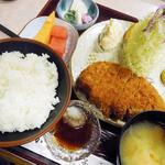 甲子屋 - 料理写真:特選ロースカツ定食