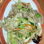 粋宏閣 - 肉野菜炒め