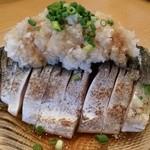 40791174 - 炙り〆鯖のサラダ仕立て。