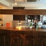 ワインカフェ - バーカウンター